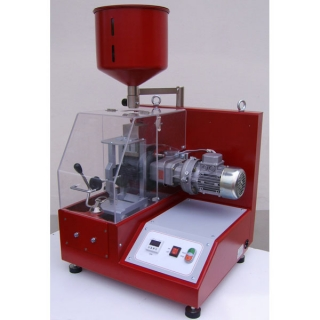 Машина за определяне устойчивостта на абразивно износване