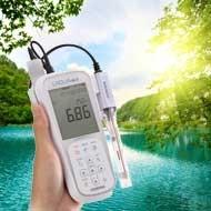 Портативни измерители на качеството на водата LAQUAact