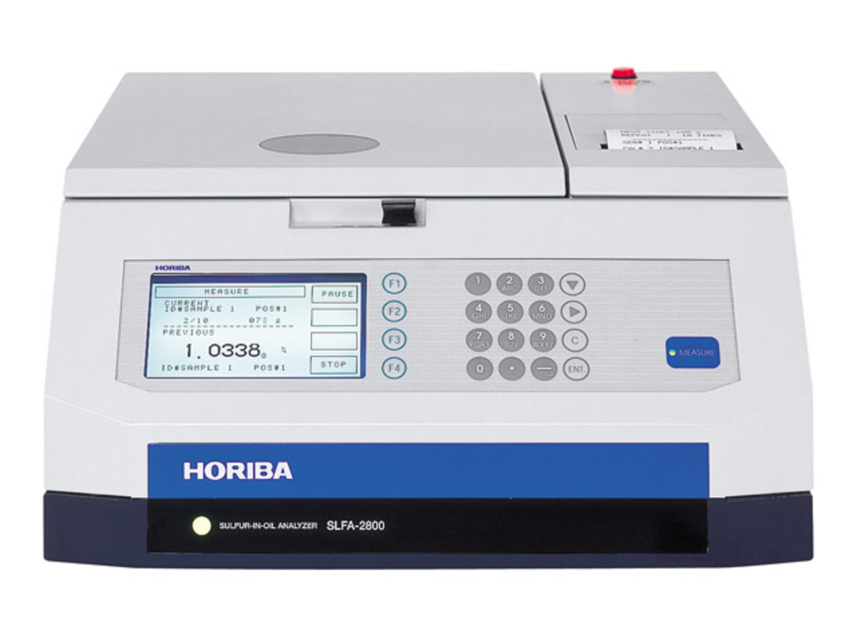HORIBA Sulfur-in-Oil (измерване на сяра в горива)